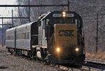 CSX 2761 on geometry train W003